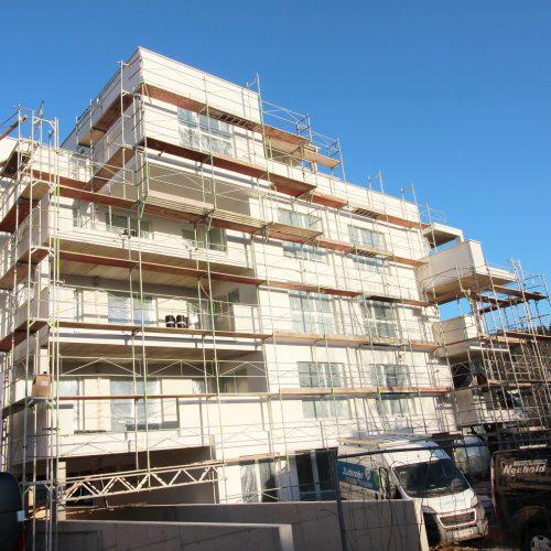 Freistil Baustellenfortschritt 5 Jänner 2019