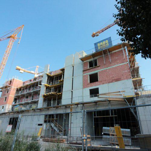 Baufortschritt Baustelle Ost