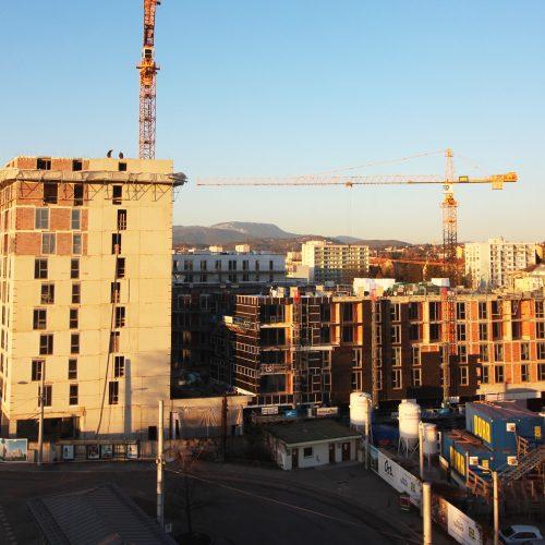Ost. Baustellenfortschritt 1 Jänner 2019