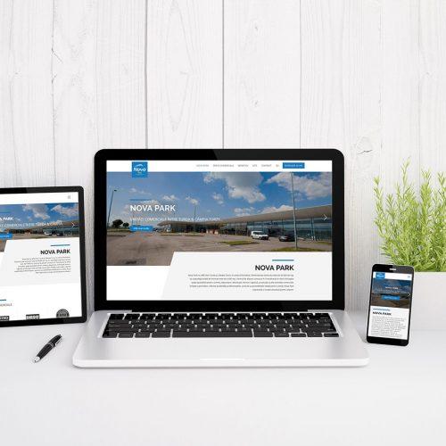 Nova Park - Website
