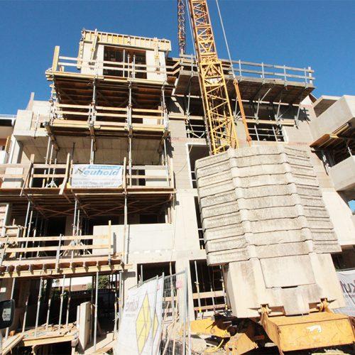 Freistil Baufortschritt