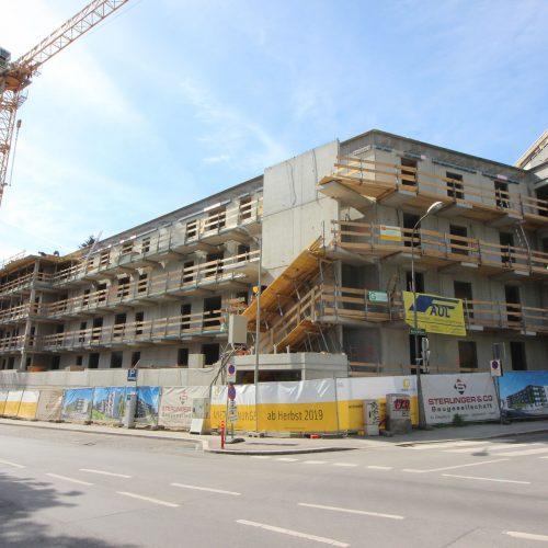 Heinrichstraße Gleichenfeier 01